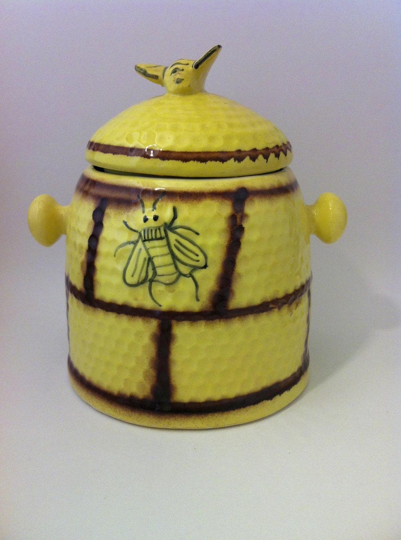 Unavailable listing on etsy - Beehive cookie jar ...