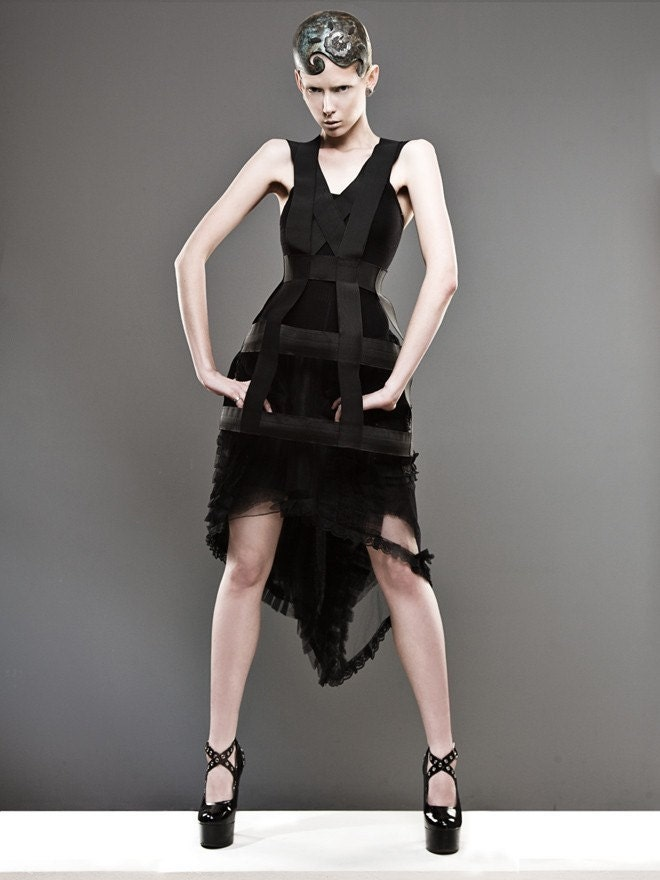 Urban cage dress