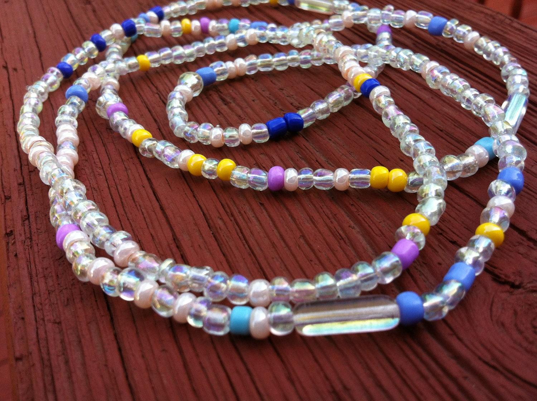 CONSTANCE Set of 2 African Waist Beads