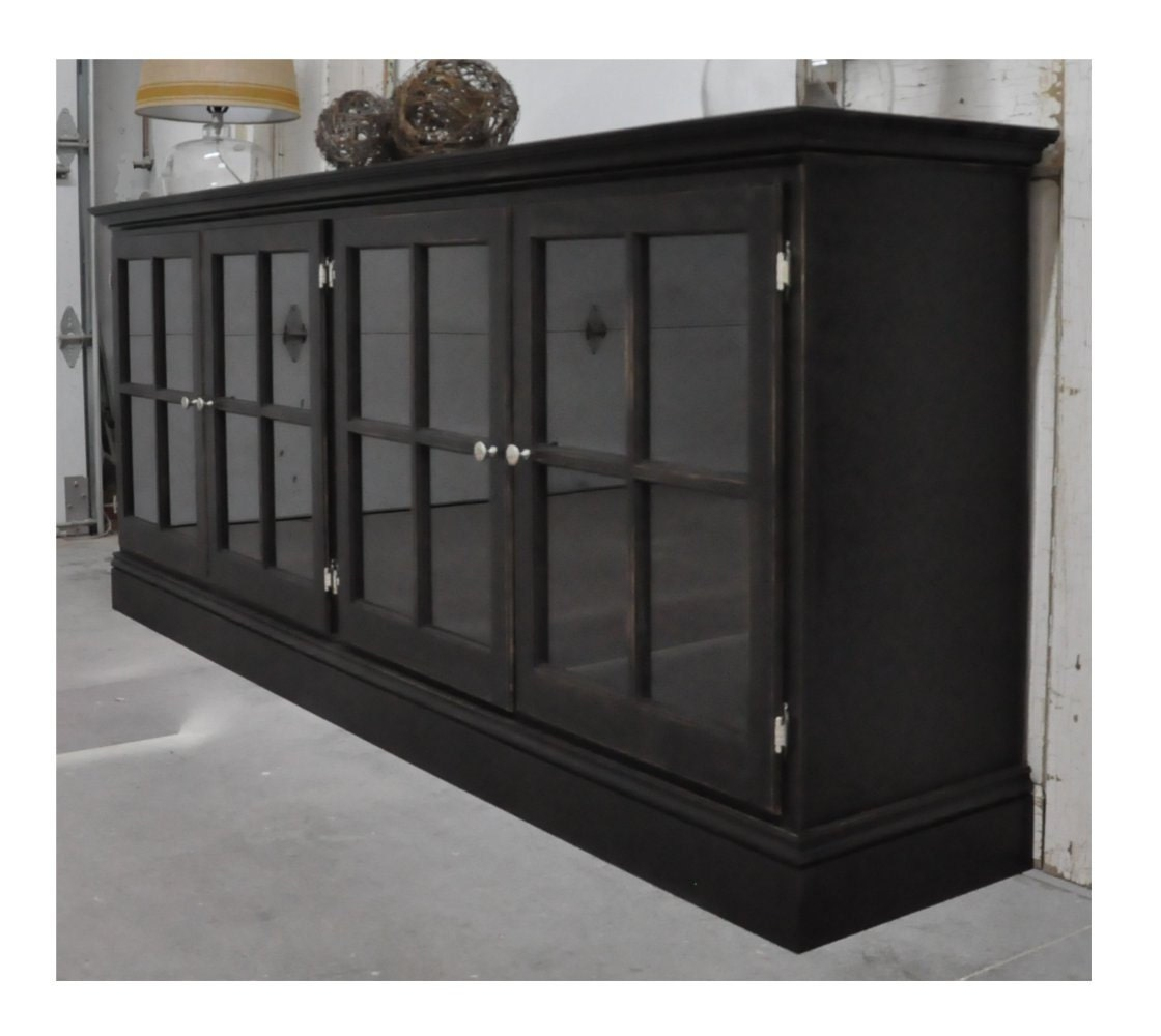 Image Result For Black Media Storage Cabinet With Doors