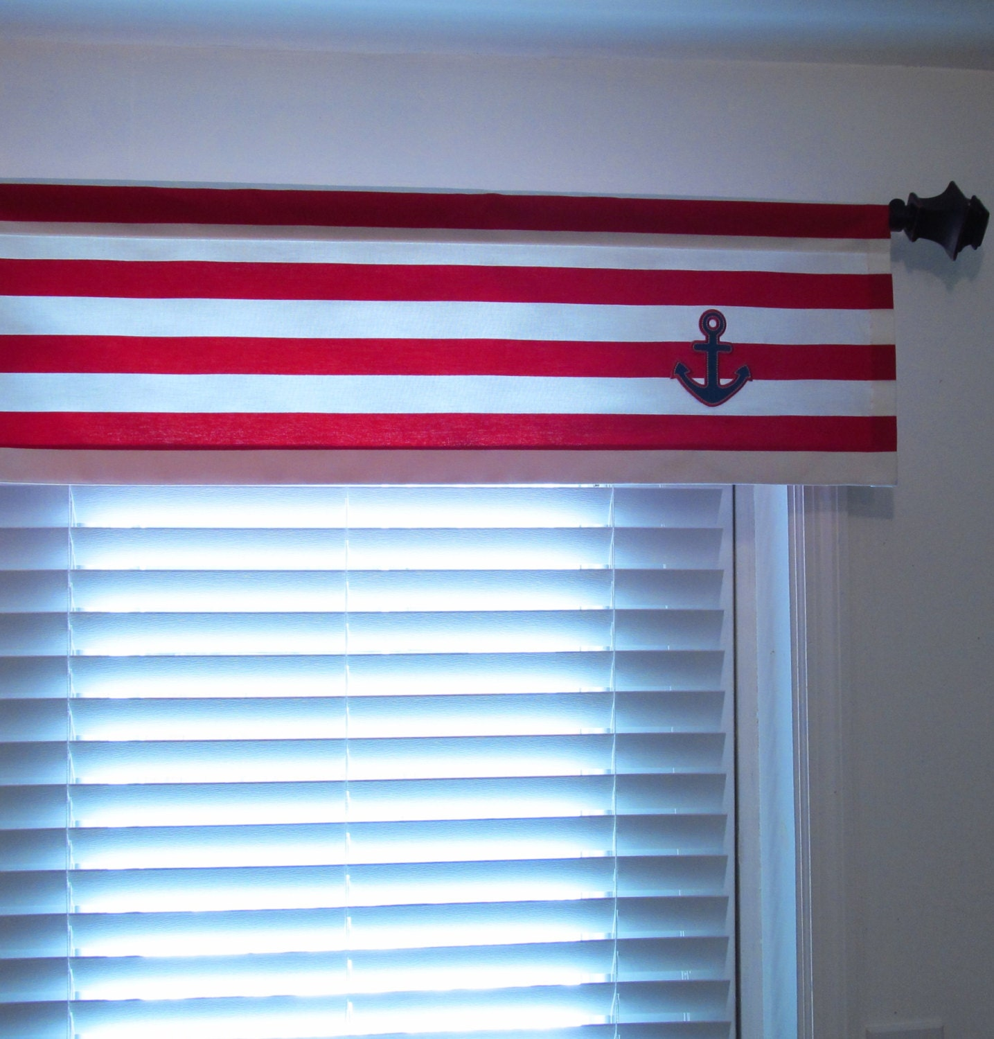 Nautical curtains window treatments