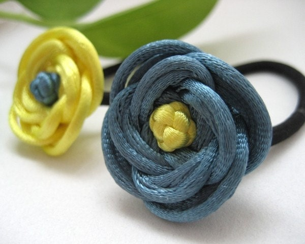 goody ponytail holders. Rose Ponytail Holders - Blue,