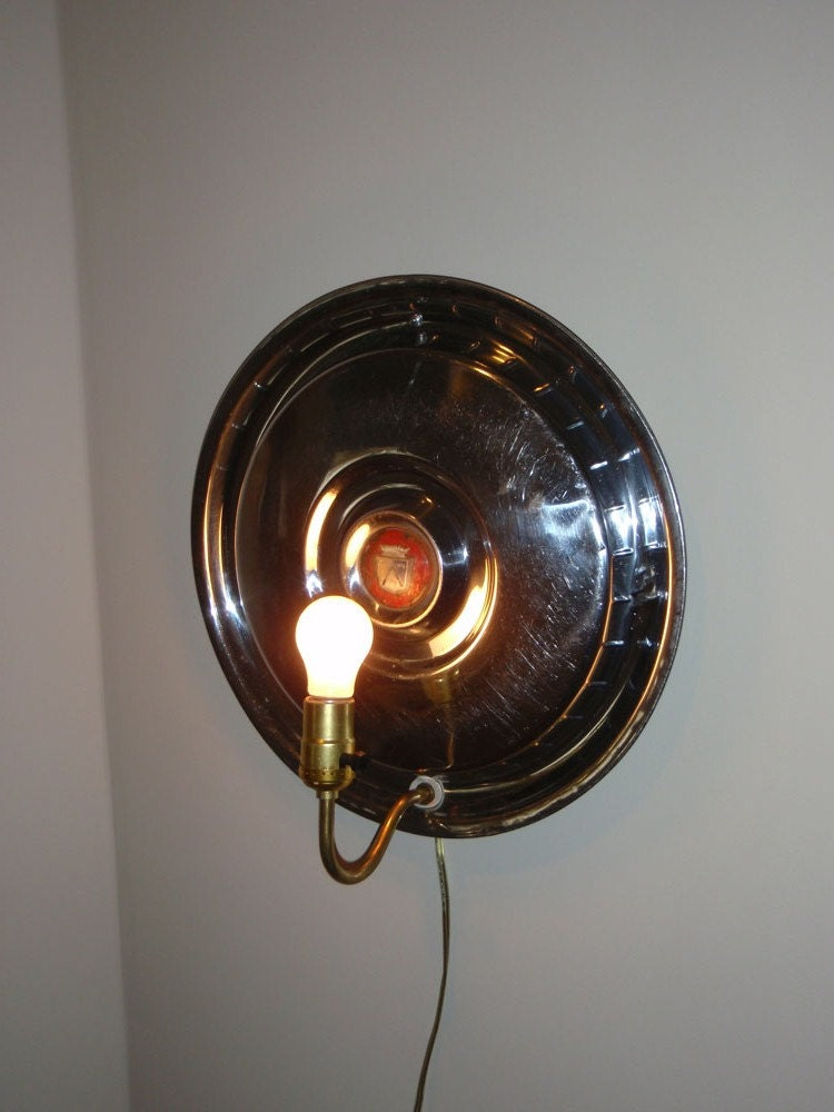 Items Similar To Man Cave Wall Sconce Hanging Lamp Ford
