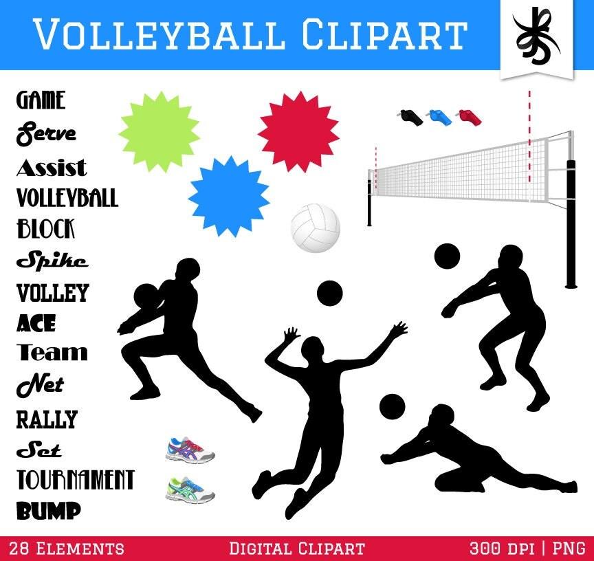 Volleyball graphic design