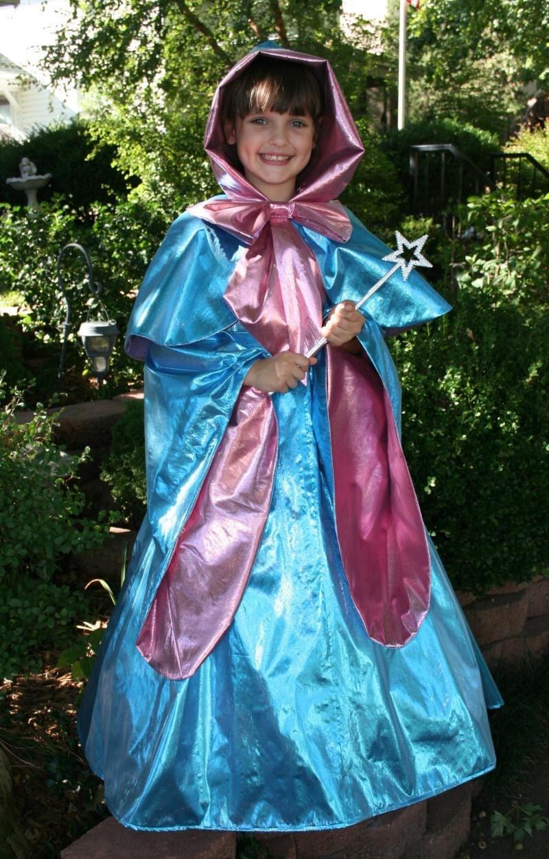 Cinderella's FAIRY GODMOTHER Costume Custom Child Sz
