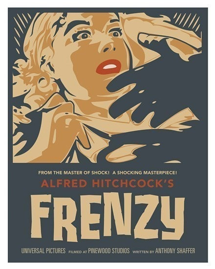 Frenzy - extra large movie poster - 44 x 55