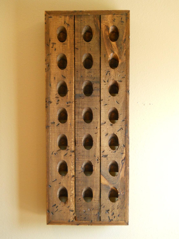 Distressed Riddling Racktavern Grade Wine By