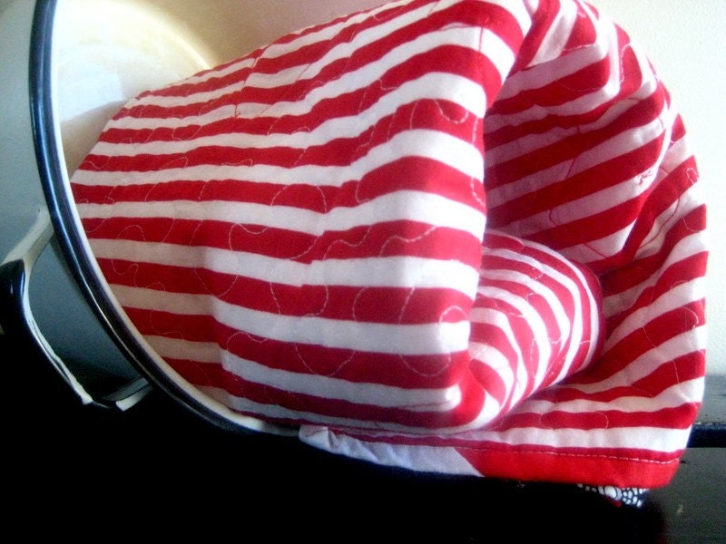 red white striped baby blanket holiday christmas quilt