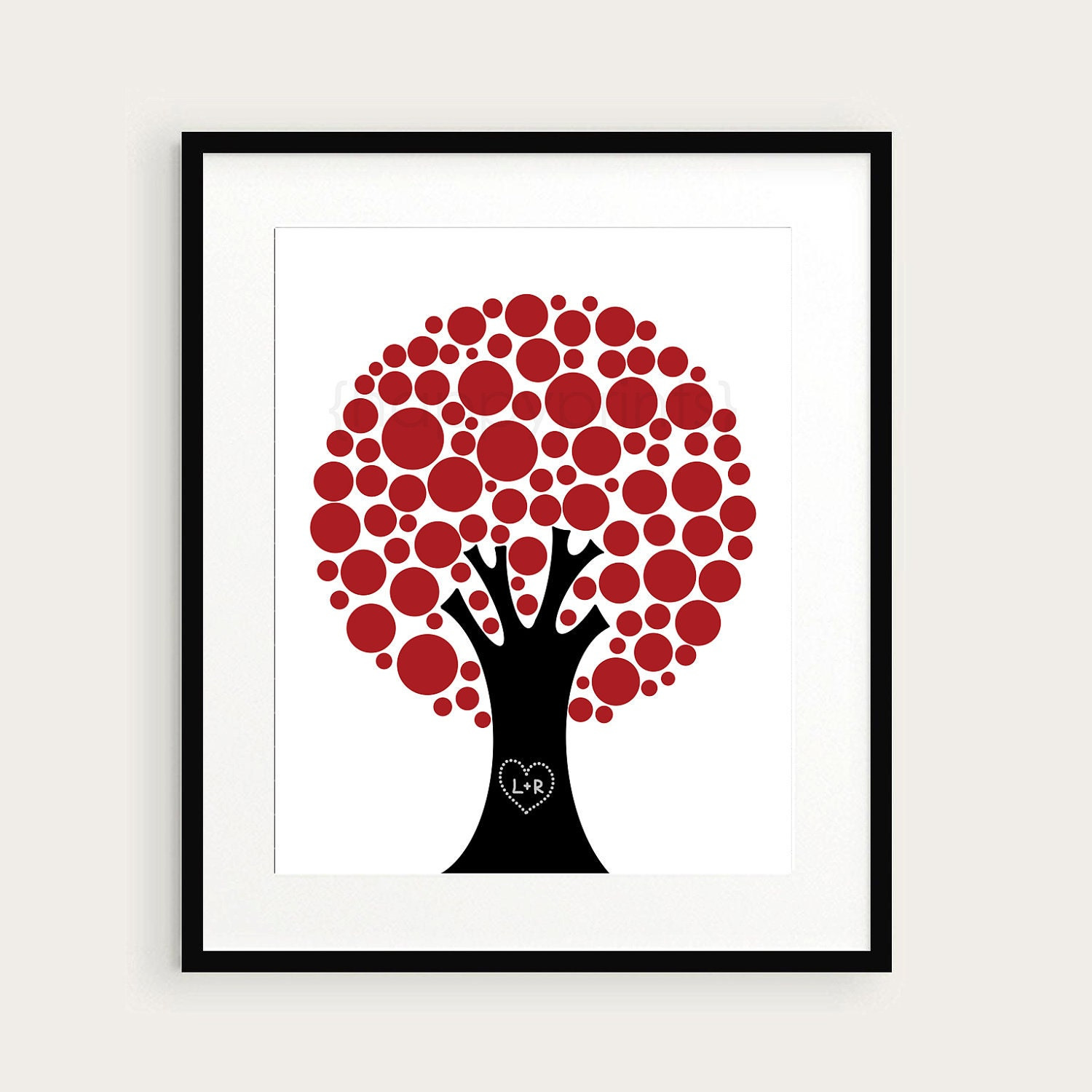 Love Print Valentine 39 S Day Wall Art Print Gift By