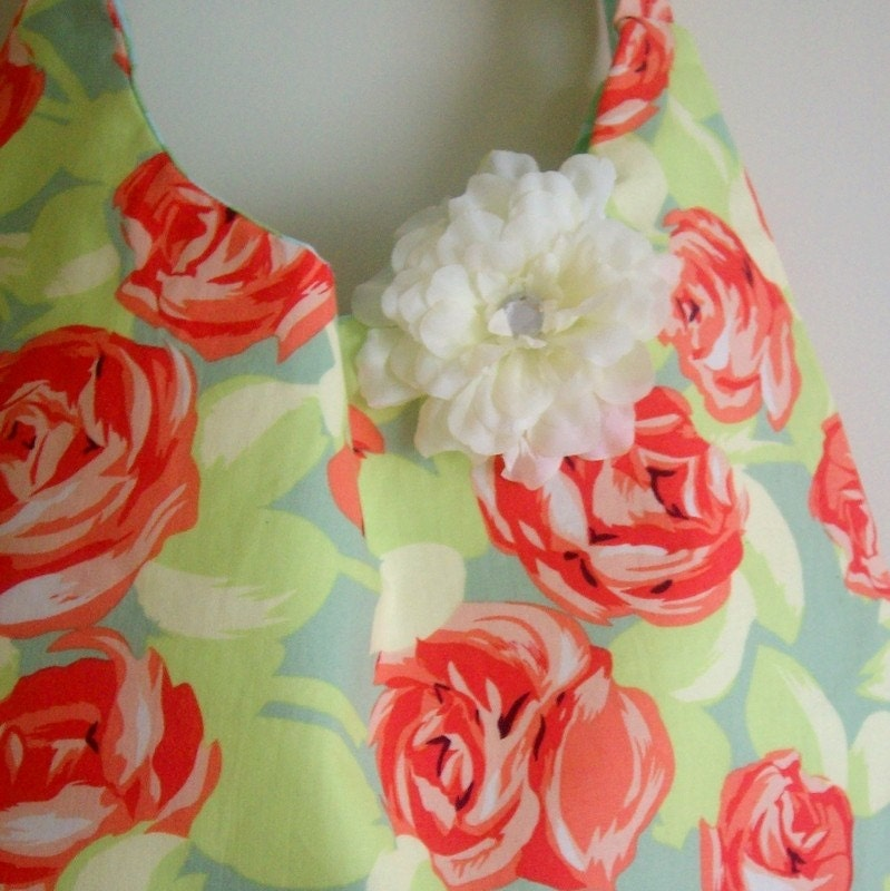 Amy Butler Roses Purse-reversible- CLEARANCE