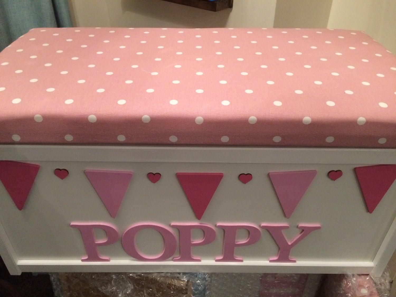 Storage box. Toy box. Personalised toy box. Rose. Keepsake box. Wooden box. Memory box. Toy storage. Baby shower. Furniture.