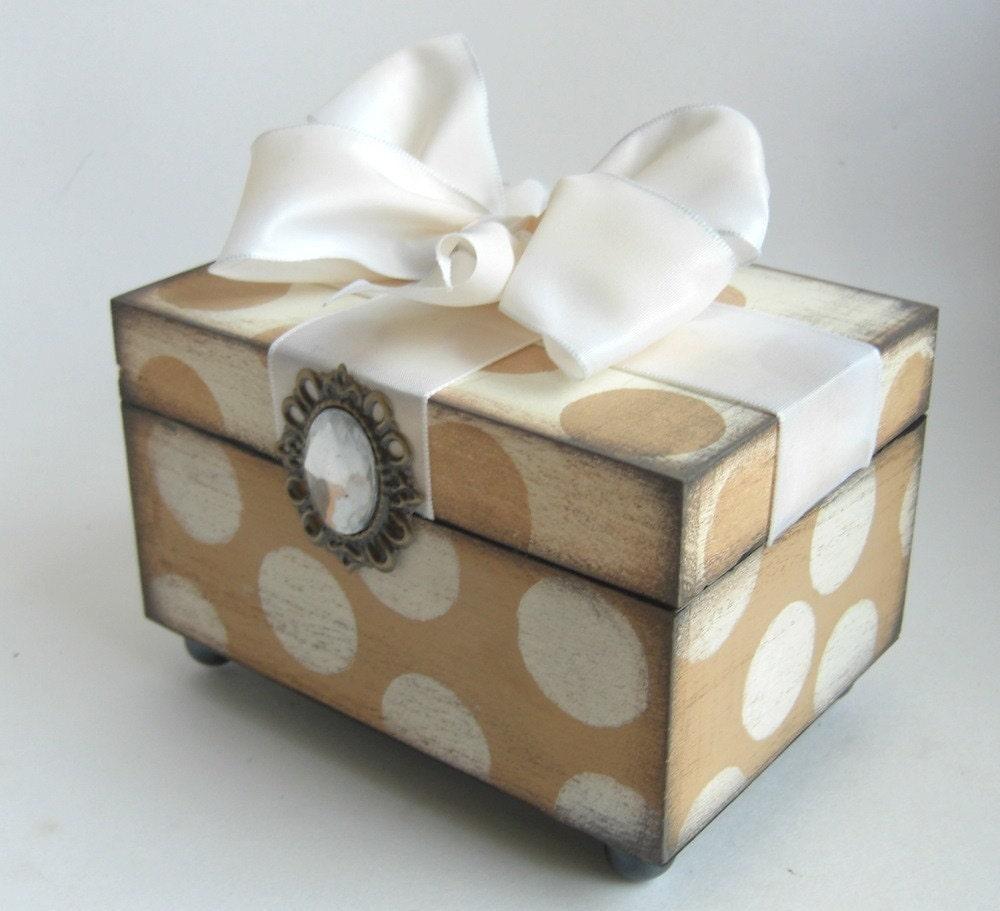 Брелок Box Романтический потертый шик