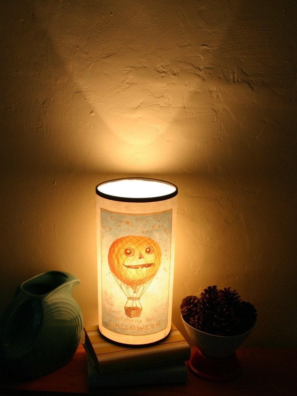 Воздушном шаре тыквы лампы Хэллоуин Декор напечатана на переработанной бумаге