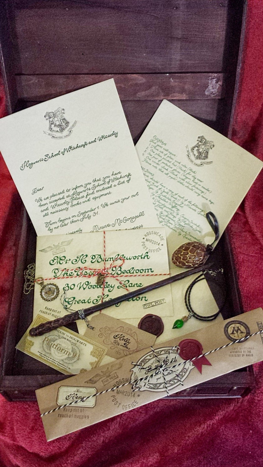 Complete Wizard Kit Harry Potter Inspired Magic By LiselleMade