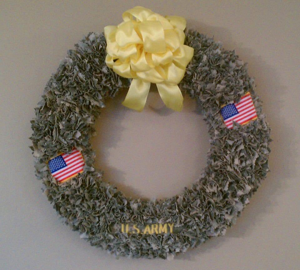 Military Deployment Wreath - WreathsbyVonetta