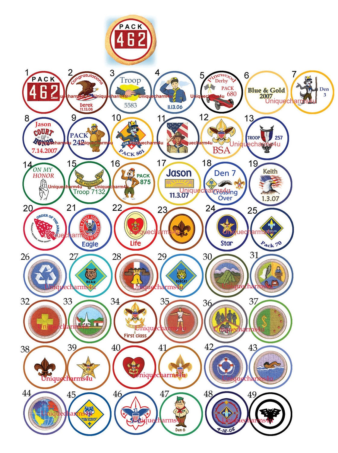 Eagle Party Decorations Similiar Eagle Scout Cupcake Toppers Keywords