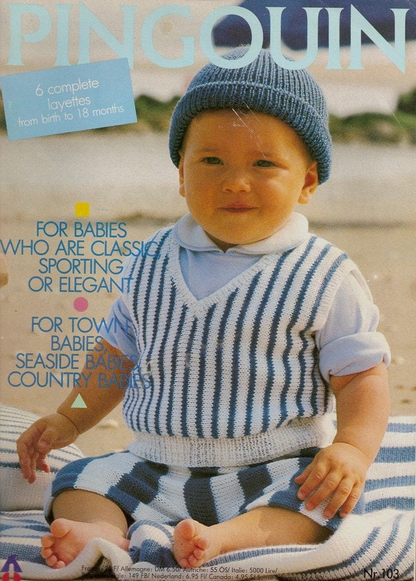 Knitting: patterns for knitting baby bunting, baby bunting, baby