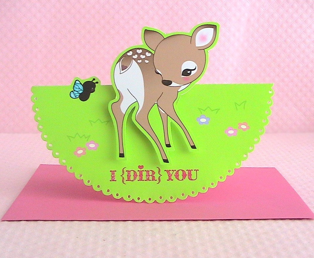 I (Dir) You Card