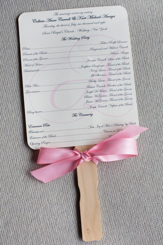 Wedding Program Samples Images