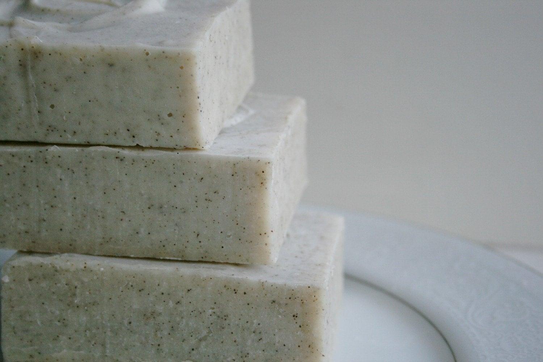 Peppermint Eucalyptus  Essential Oil Soap Bar