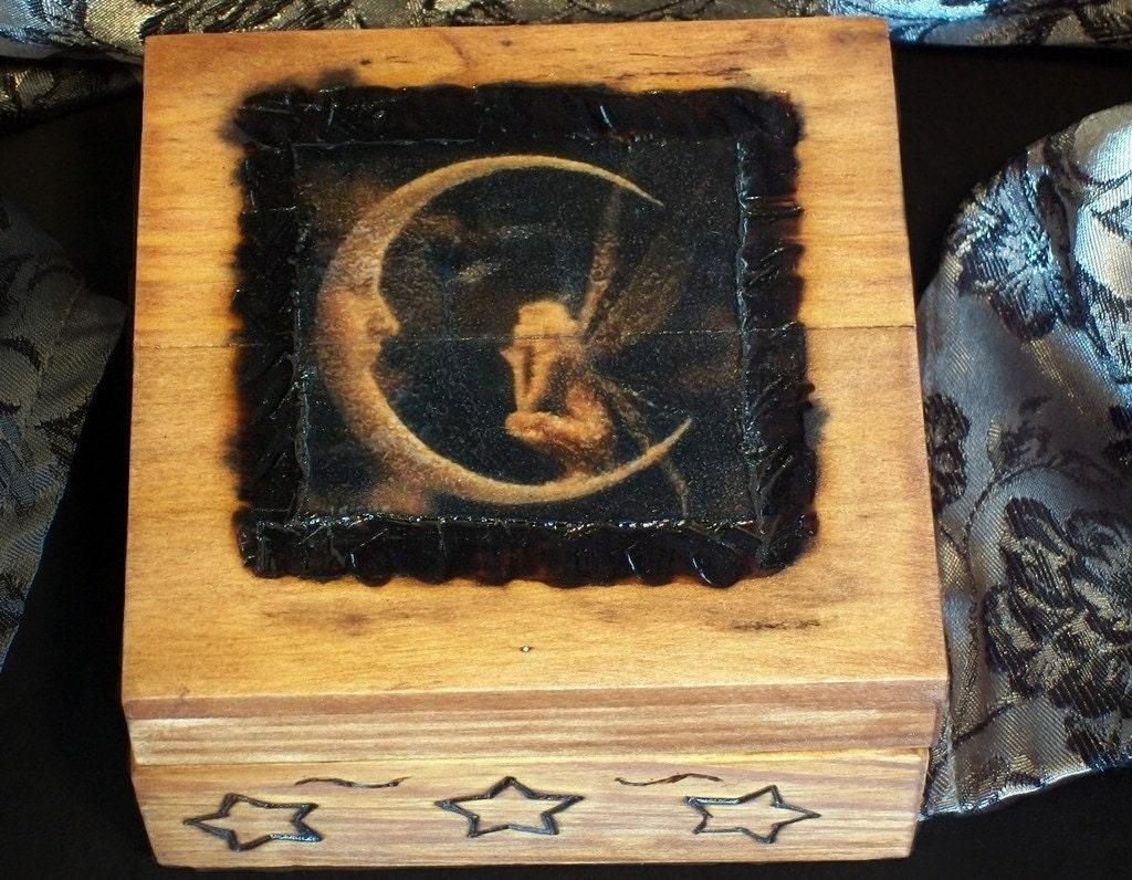 Scented Fairy Rune Jewelry Box
