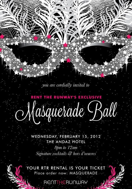 Custom Masquerade Invitations by KmPrinting on Etsy