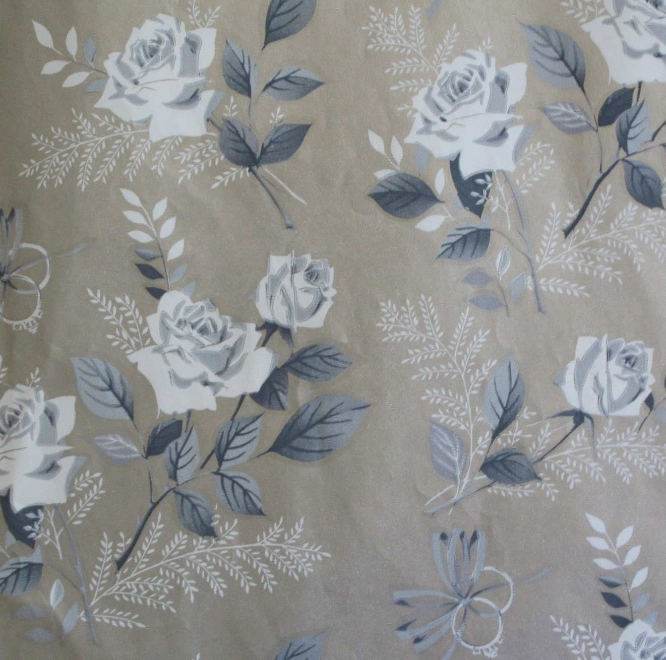 Wedding Gift Wrap : Vintage Laurel Wedding Gift Wrap Wrapping by MidCenturyAddiction