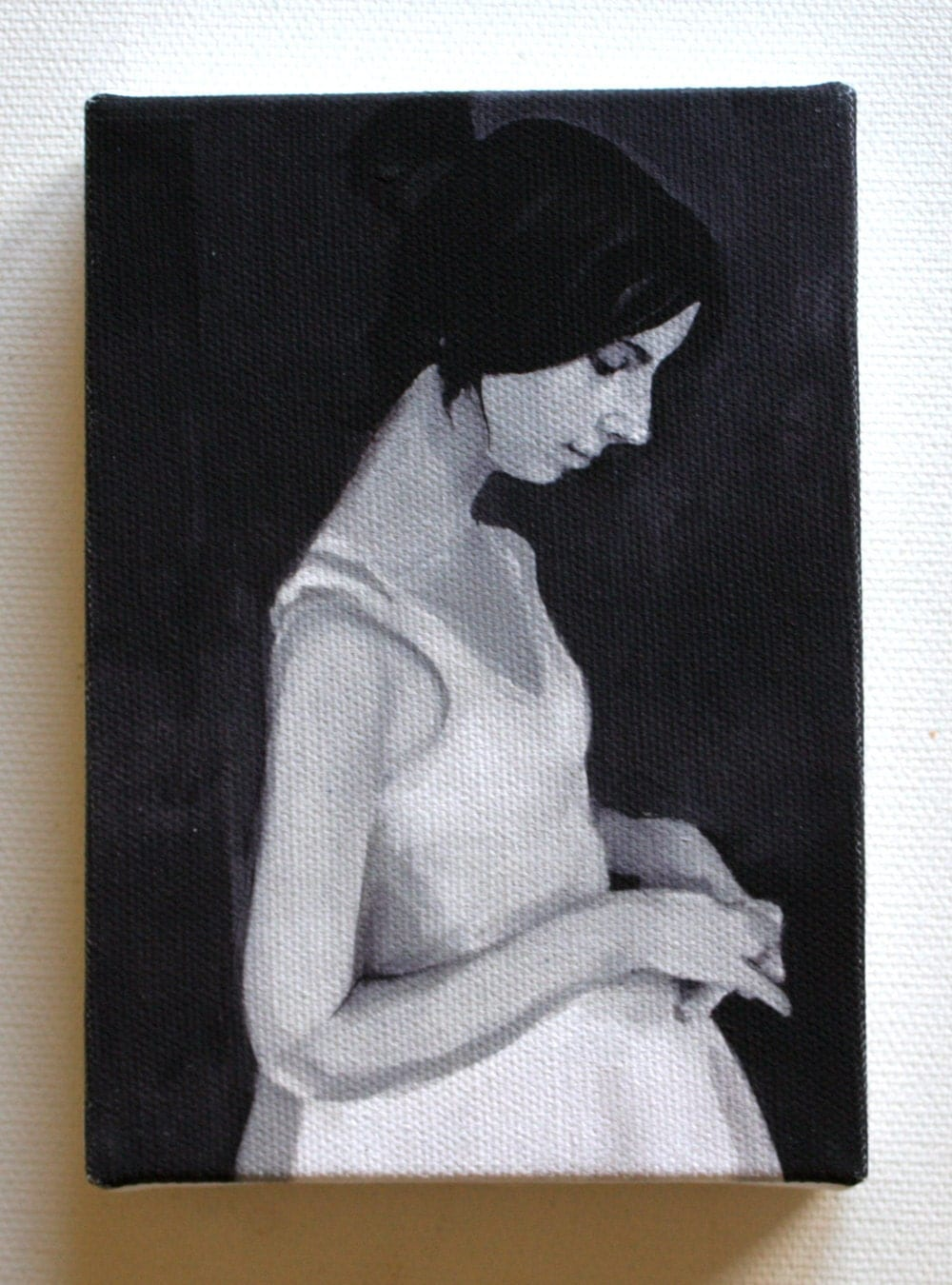 Naomi/ Tiny canvas print