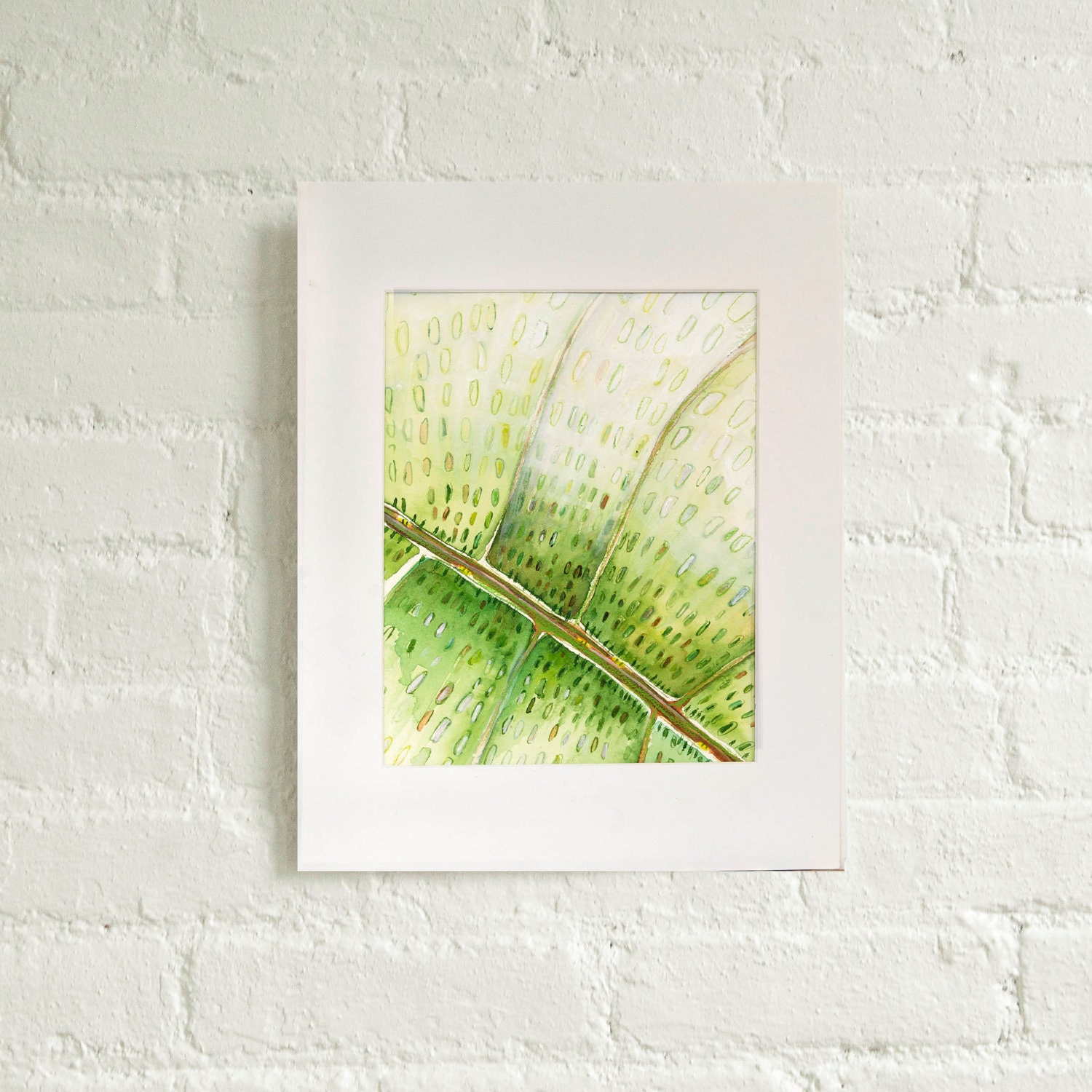 Green City - New York City Art, Original Watercolor painting, illustration - MyNewYorkCity