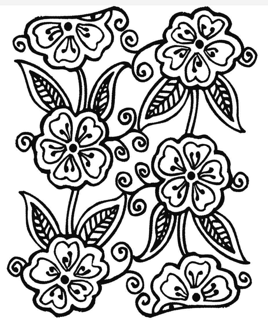 Clear Stamp Henna Tattoo Style