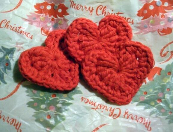Free Heart Crochet Pattern New Calendar Template Site