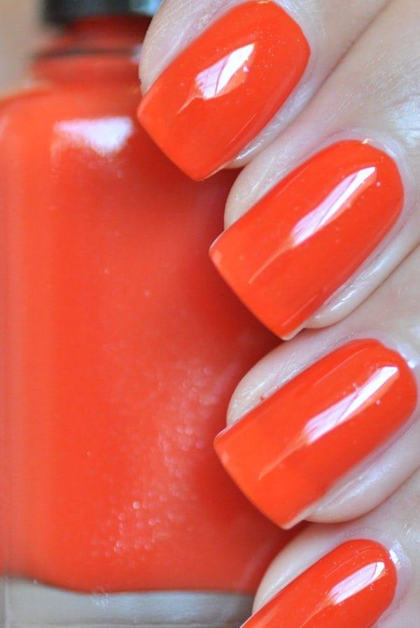 Twenty Twelve Orange Nail Polish 5ml Mini Bottle