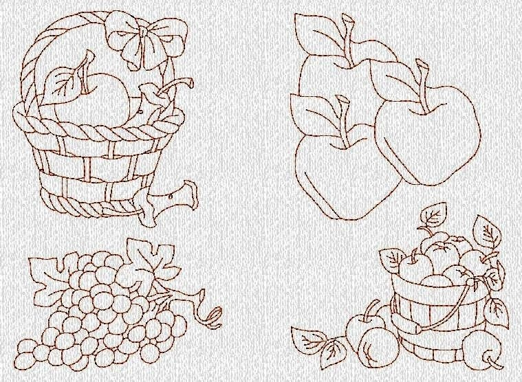 FREE REDWORK EMBROIDERY DESIGNS