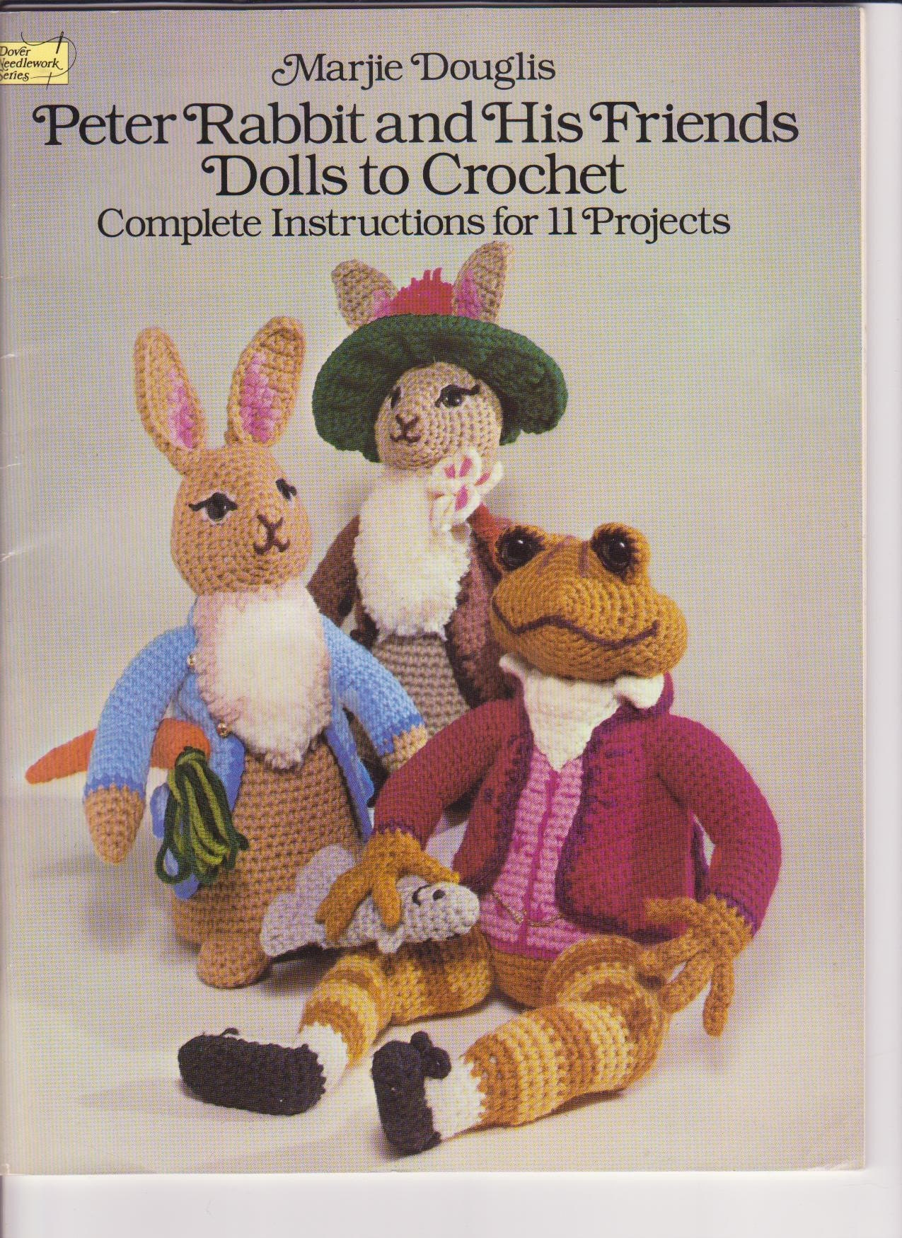Peter Rabbit Knitting Patterns Free : Peter rabbit and friends dolls crochet pattern by aeriedesigns