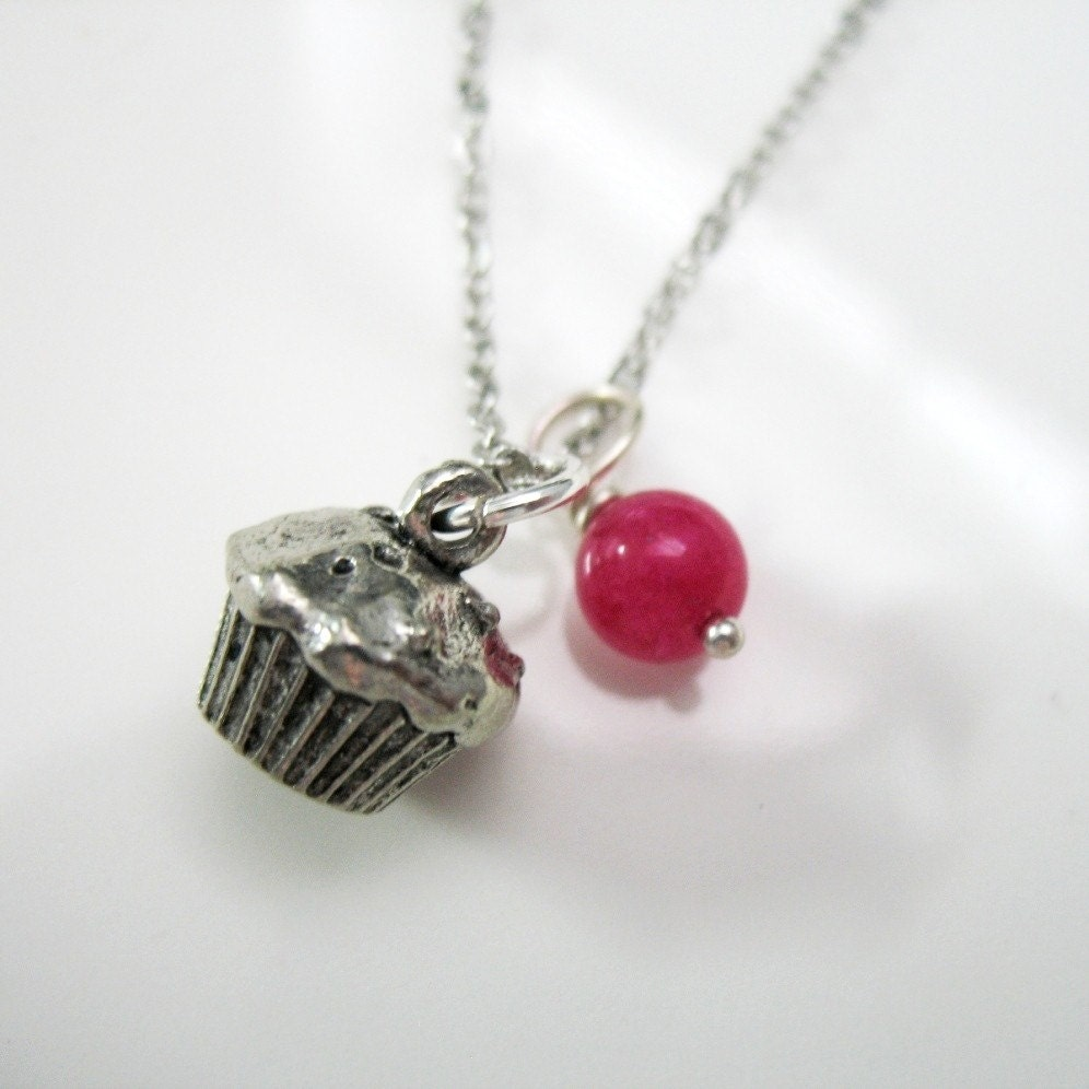 Hey, Cupcake - Cute Charm Necklace.
