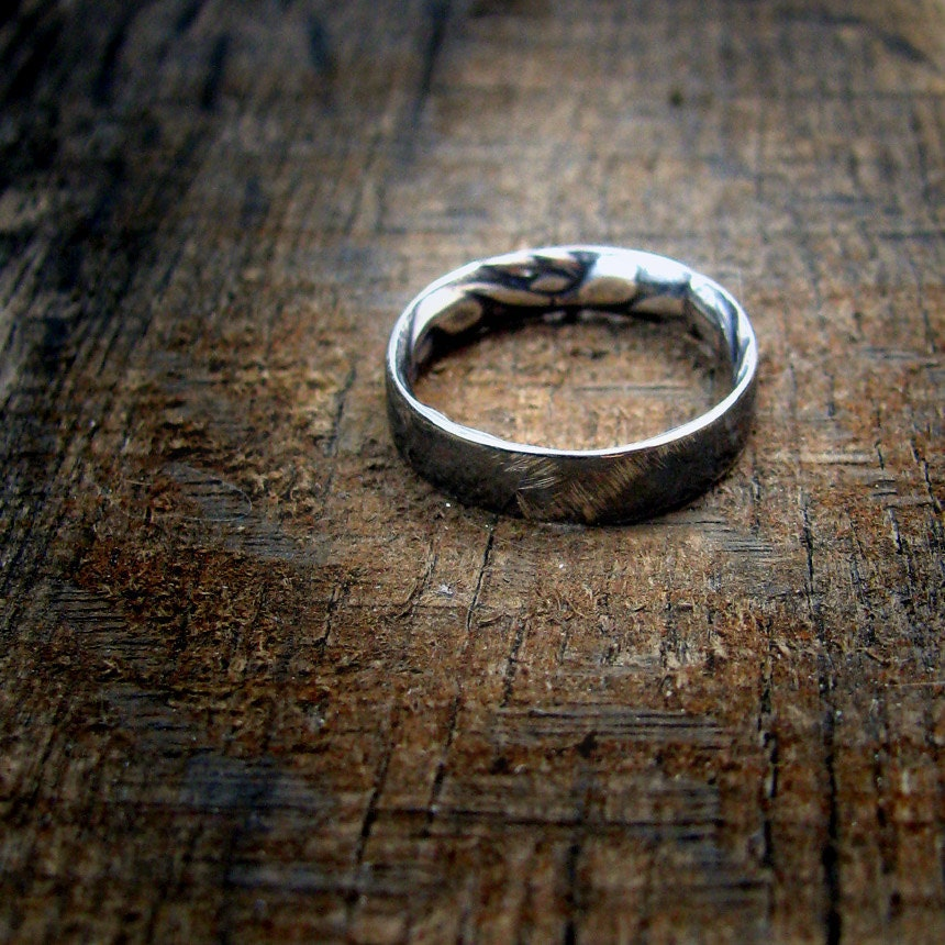 Beauty Is On The Inside - Sterling Silver Ring - MADE TO ORDER - EstherEveMetalsmith