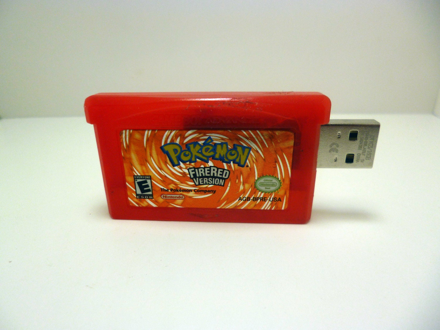 Pokemon Fire Red 16 Gb USB 2.0 Flash Drive Gameboy by ...