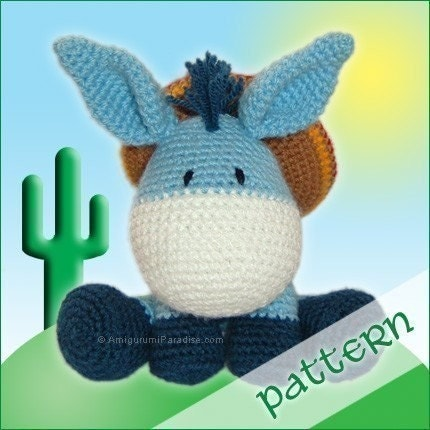 PDF Pattern - Gonzales, the Little Donkey