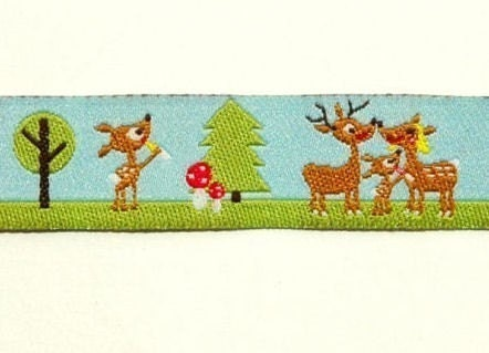 A day in the woods ribbon/sewing tape