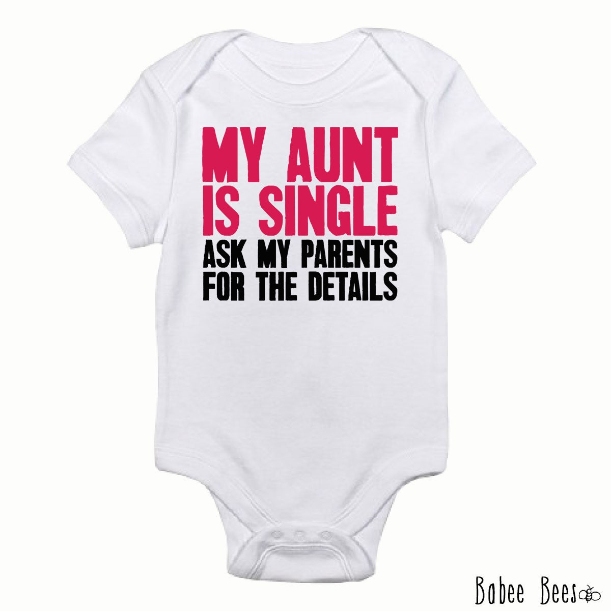 Funny Aunt Baby Clothes