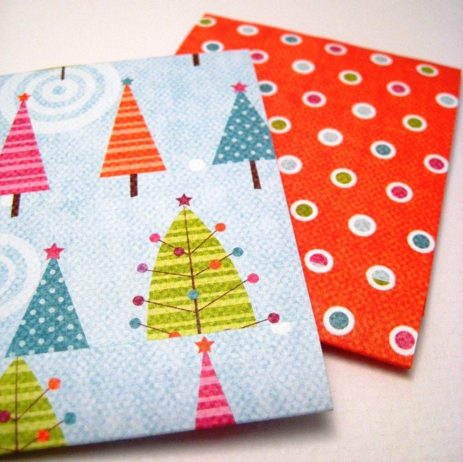Four Winter Matchbook Notepads
