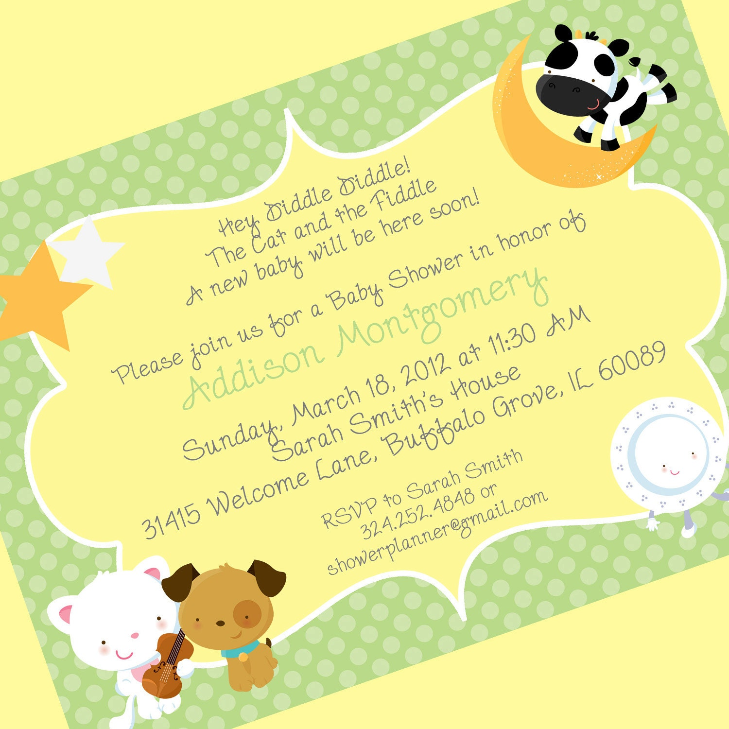 Baby Shower Invite Rhymes was best invitations template