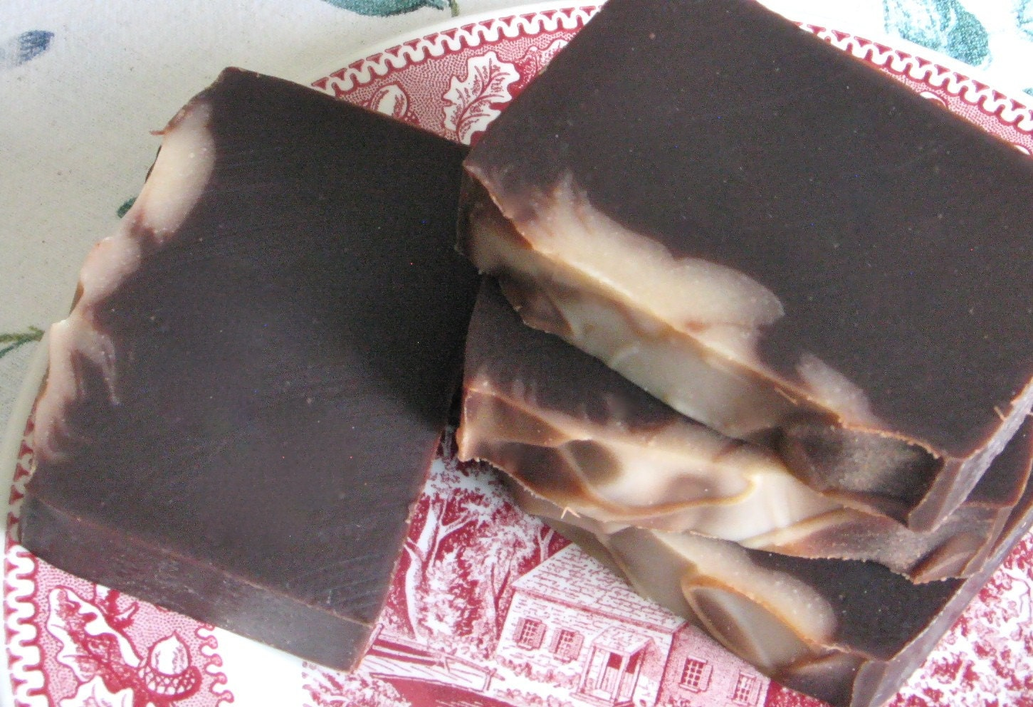 Chocolate Serendipity Handmade Soap with Cocoa Butter
