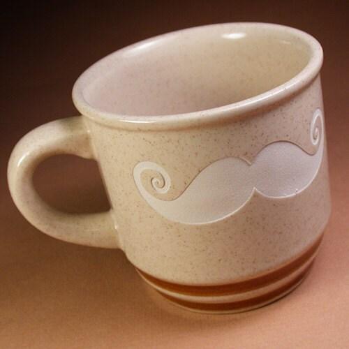 Reclaimed Mustache Mug - Freckles