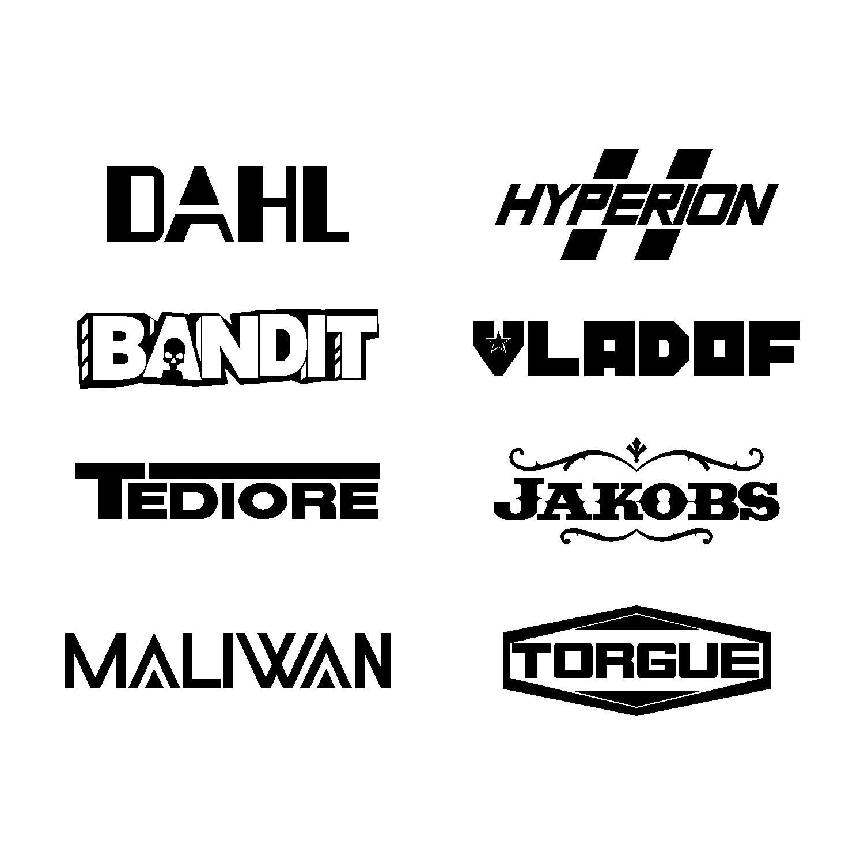 items similar to gun manufacturers logos vinyl decal 8