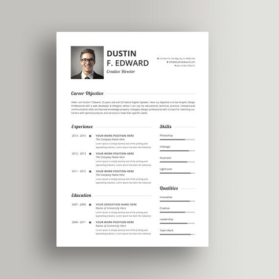 Resume Example  Free Creative Resume Templates For MAC Pages Cute     soymujer co