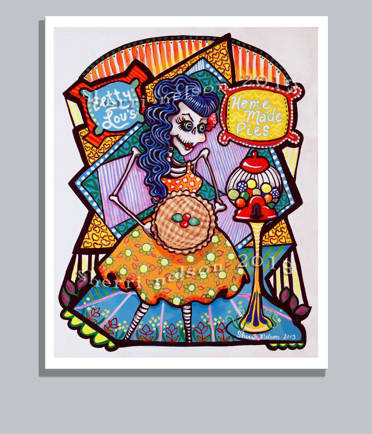 Rockabilly Kitchen Decor: Unavailable Listing On Etsy