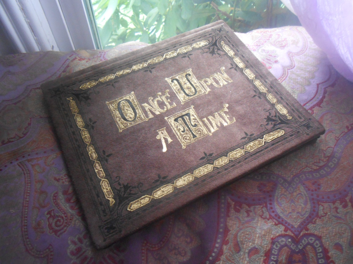 "Once Upon A Time Henry's Leatherbound Book of Fairy Tales Cover for iPad or other 9""-10"" Tablets - AnEnchantedFate"