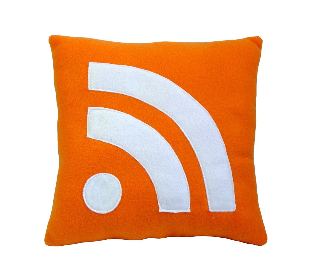 RSS Icon Pillow