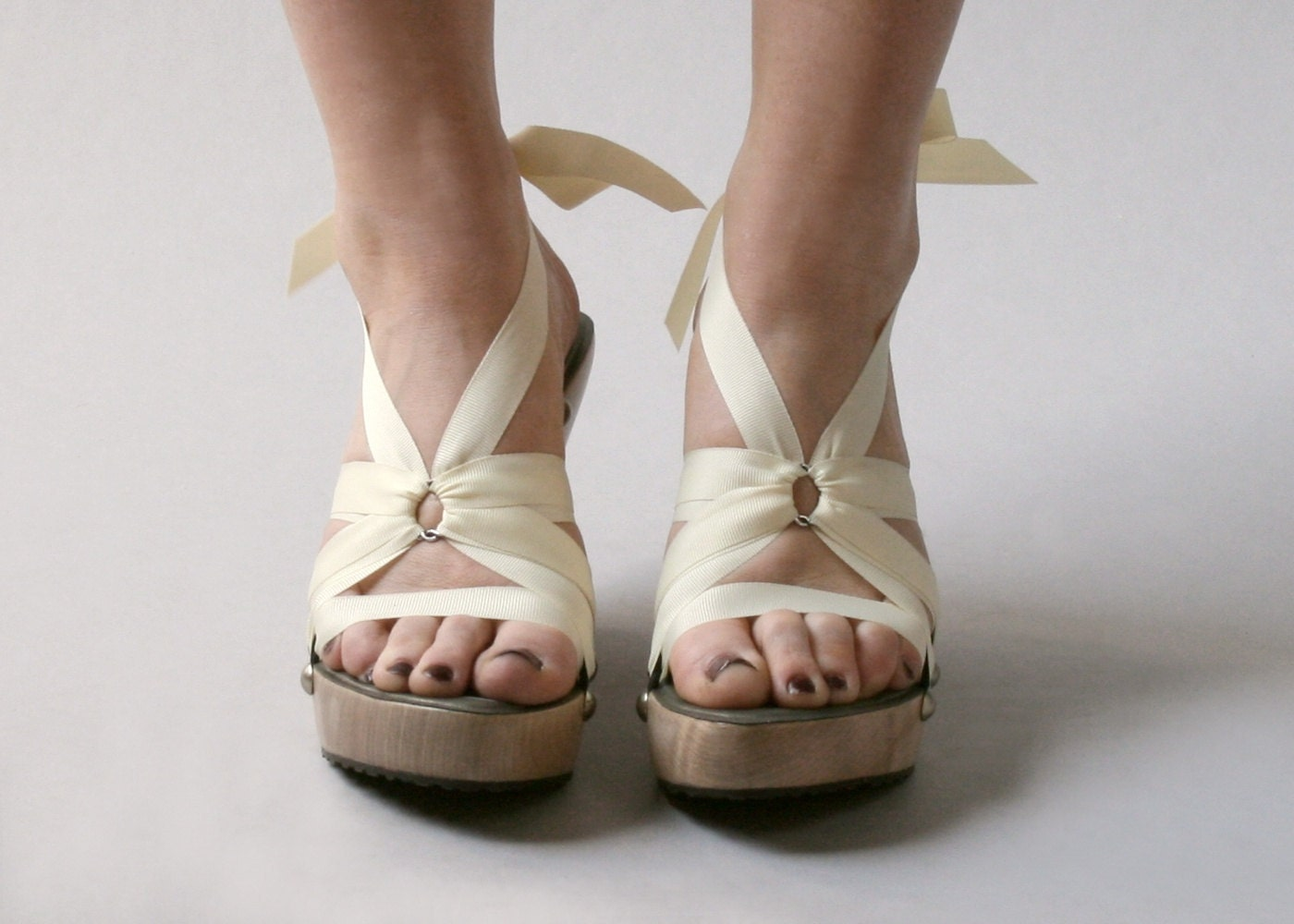 اندازه 5 -- بالا افرا Mohop نقطه کفش دستباف